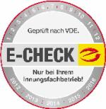 E-CHECK und DGUV-Prüfungen
